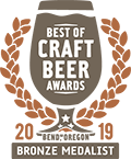 Bronze Medal, 2019 Best of Craft Beer Awards