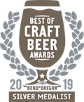 Silver Medal, 2019 Best of Craft Beer Awards