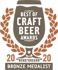 Bronze Medal, 2020 Best of Craft Beer Awards