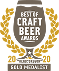Gold Medal, 2020 Best of Craft Beer Awards