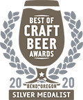 Silver Medal, 2020 Best of Craft Beer Awards
