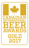 Gold Medal, 2017 Canadian International Beer Award Winners