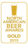 Gold Medal, 2015 North American Beer Awards