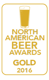 Gold Medal, 2016 North American Beer Awards