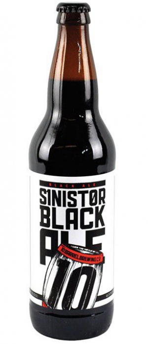 Sinister Black Ale by 10 Barrel Brewing Company in Oregon, United States
