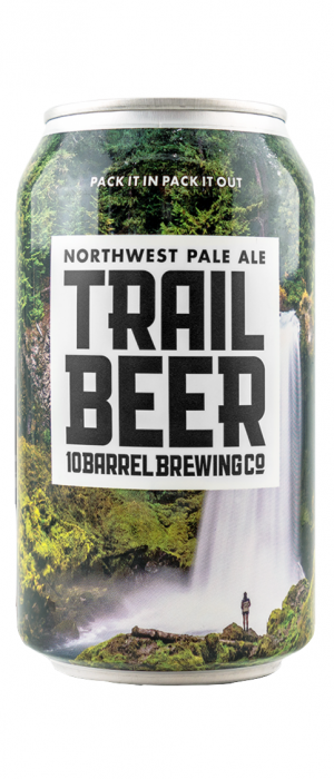 Trail Beer by 10 Barrel Brewing Company in Oregon, United States