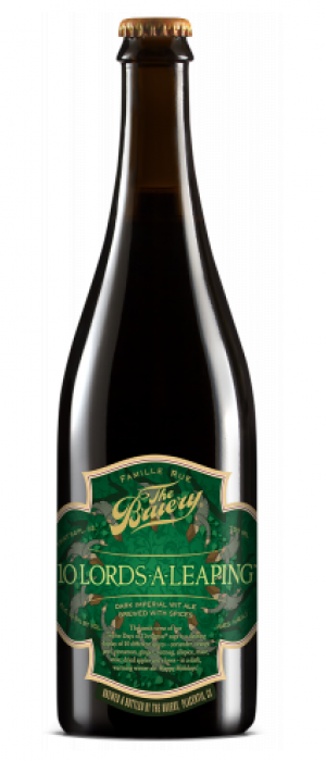 10 Lords-A-Leaping by The Bruery in California, United States
