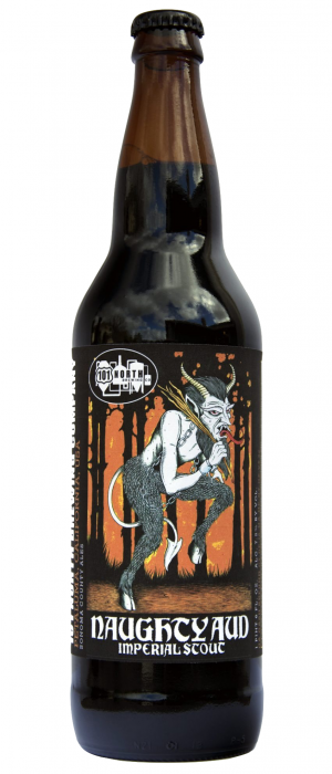 Naughty Aud Imperial Stout by 101 North Brewing Company in California, United States