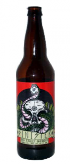 Sinister Double IPA by 18th Street Brewery in Indiana, United States