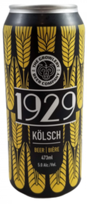 1929 by The Growlery Beer Co. in Alberta, Canada