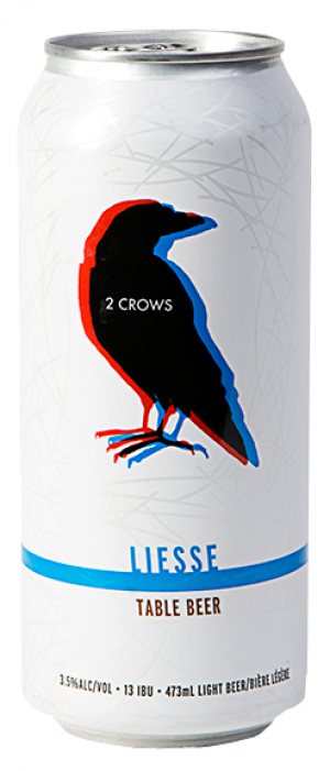 Liesse by 2 Crows Brewing Co. in Nova Scotia, Canada