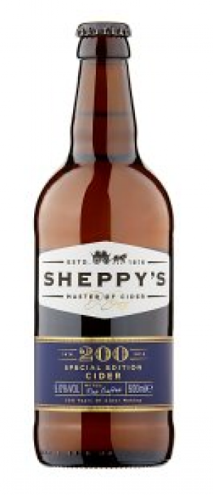 200 Special Edition Cider by Sheppy's in Somerset - England, United Kingdom