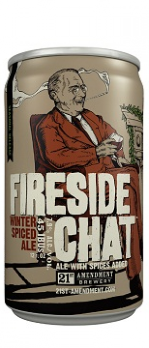 Fireside Chat by 21st Amendment Brewery & Restaurant in California, United States