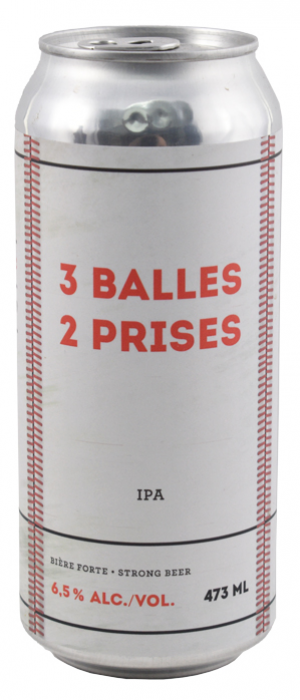 3 Balles 2 Prises by MaBrasserie in Québec, Canada