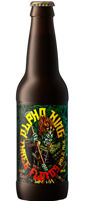 Alpha King by 3 Floyds Brewing Company in Indiana, United States