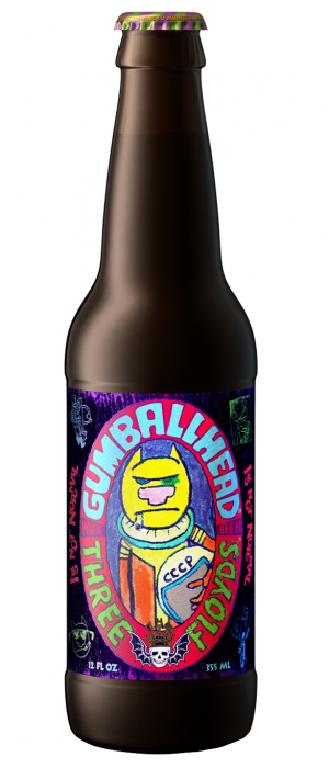 Gumballhead by 3 Floyds Brewing Company in Indiana, United States