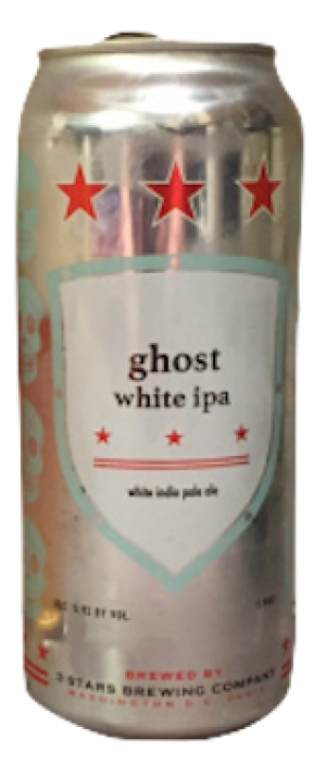 Ghost by 3 Stars Brewing Company in District of Columbia, United States