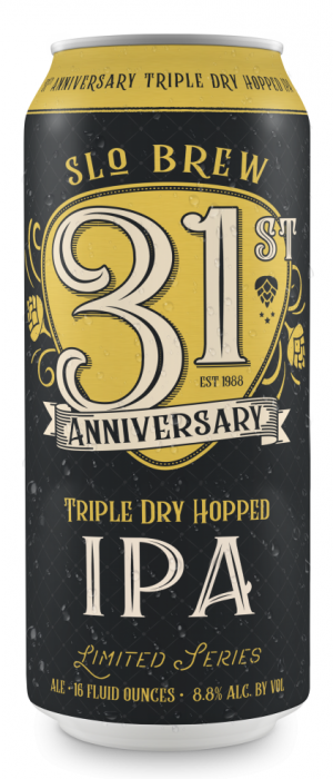31st Anniversary IPA by SLO Brew in California, United States