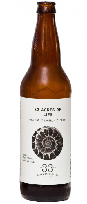 33 Acres of Life by 33 Acres Brewing Company in British Columbia, Canada