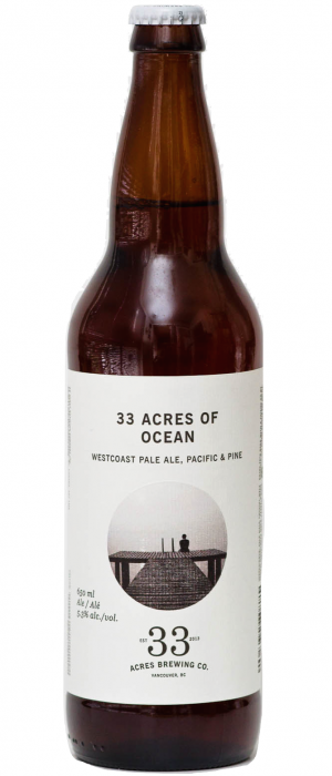 33 Acres of Ocean by 33 Acres Brewing Company in British Columbia, Canada
