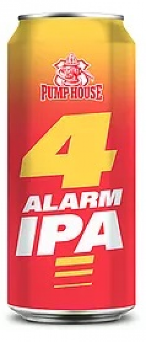 4 Alarm IPA by Pump House Brewery in New Brunswick, Canada