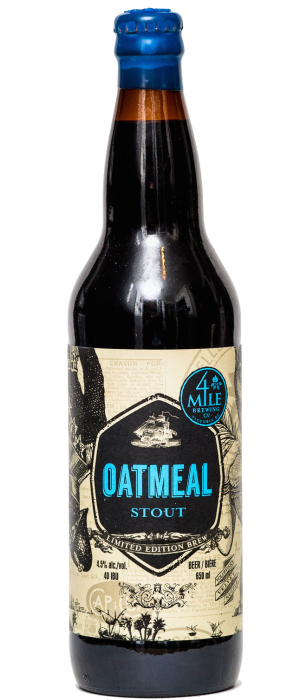 4 Mile Oatmeal Stout by 4 Mile Brewing Company in British Columbia, Canada