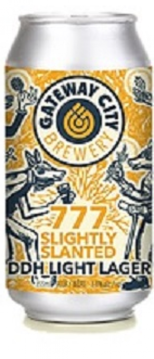 777 Slightly Slanted by Gateway City Brewery in Ontario, Canada