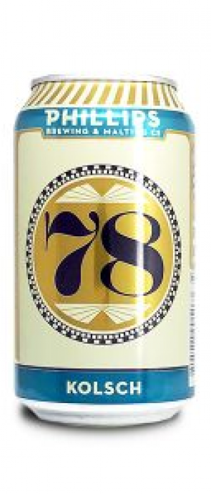 78 Kolsch by Phillips Brewing & Malting Company in British Columbia, Canada