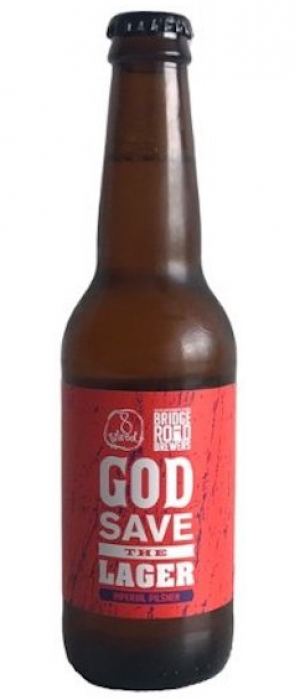 God Save the Lager (Collaboration with Bridge Road Brewers) by 8 Wired Brewing in Auckland, New Zealand