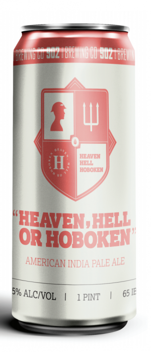 Heaven, Hell or Hoboken by 902 Brewing Company in New Jersey, United States