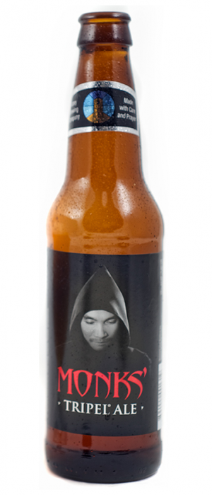 Monks' Tripel Ale by Abbey Brewing Co. in New Mexico, United States