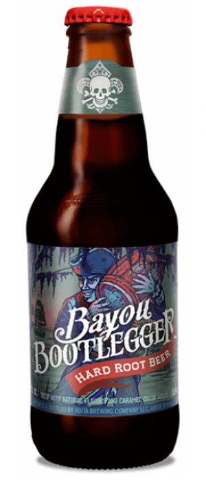 Bayou Bootlegger Hard Root Beer by Abita Brewing Company in Louisiana, United States