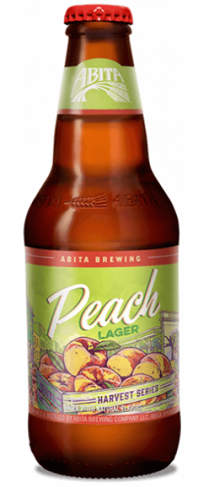 Peach Lager by Abita Brewing Company in Louisiana, United States