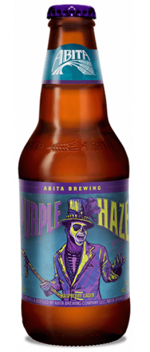 Purple Haze by Abita Brewing Company in Louisiana, United States