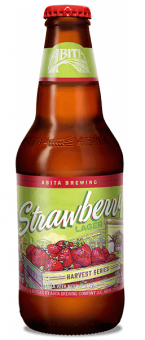 Strawberry Lager by Abita Brewing Company in Louisiana, United States