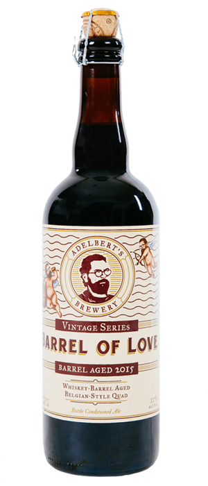 Barrel Of Love by Adelbert's Brewery in Texas, United States