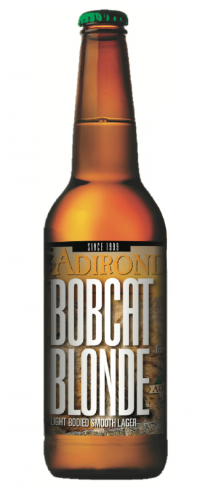 Bobcat Blonde Lager by Adirondack Brewery in New York, United States