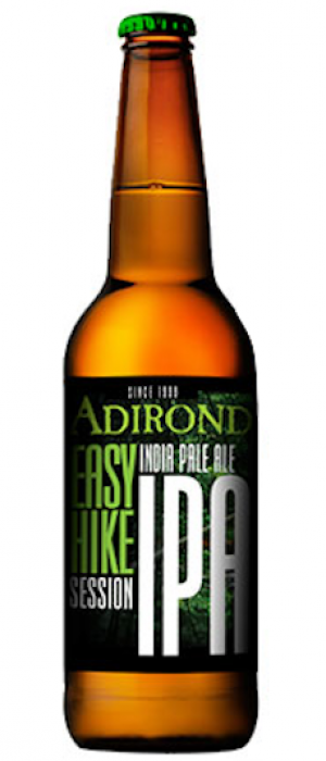 Easy Hike Session IPA by Adirondack Brewery in New York, United States