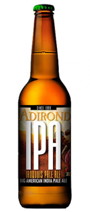 Iroquois Pale Ale by Adirondack Brewery in New York, United States