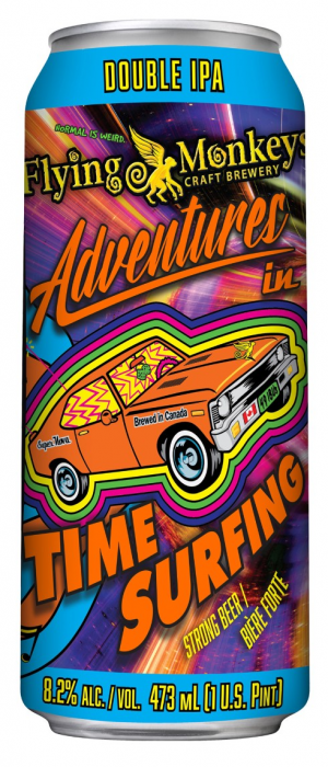 Adventures in Time Surfing by Flying Monkeys Craft Brewery in Ontario, Canada