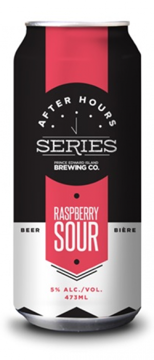 After Hours Raspberry Sour by Prince Edward Island Brewing Co.  in Prince Edward Island, Canada