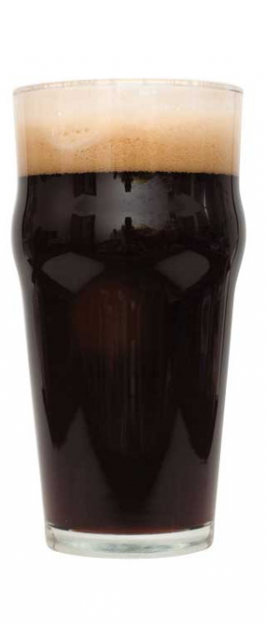 Aged Rum Barrel Tropical Stout by Rapid Ascent Brew Company in Alberta, Canada