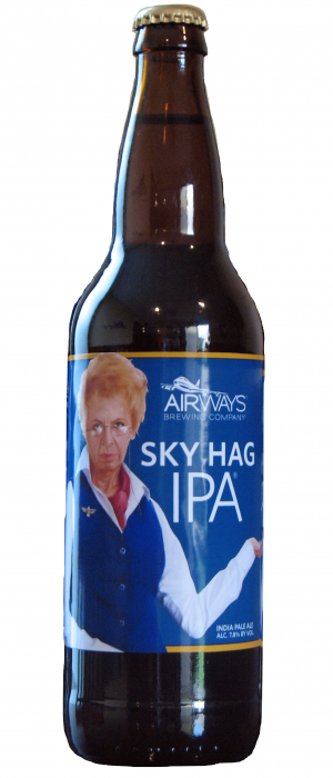 Sky Hag IPA by Airways Brewing in Washington, United States