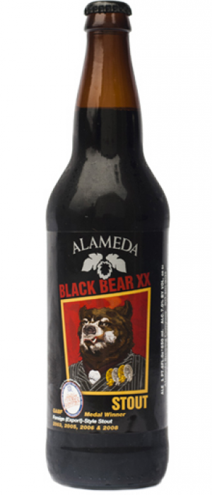 Black Bear XX Stout by Alameda Brewhouse in Oregon, United States