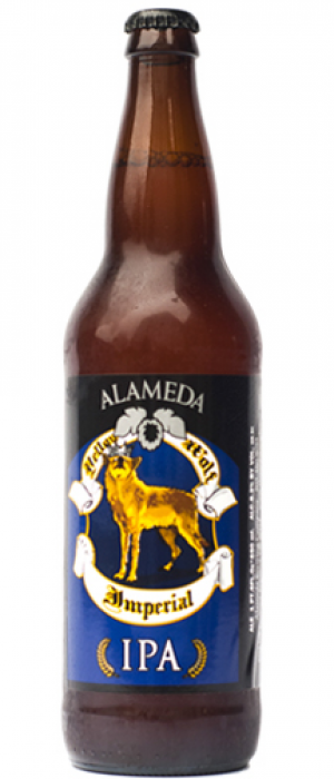 Yellow Wolf Imperial IPA by Alameda Brewhouse in Oregon, United States