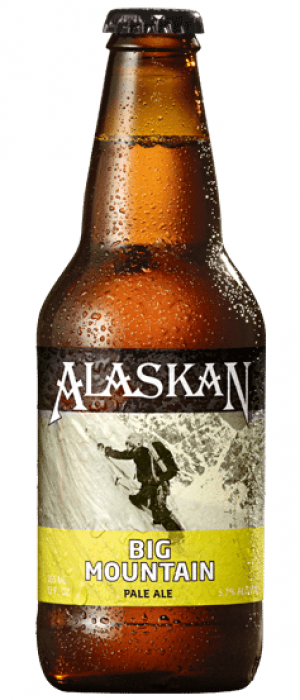 Big Mountain Pale Ale by Alaskan Brewing Company in Alaska, United States