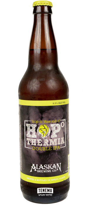 Hopothermia by Alaskan Brewing Company in Alaska, United States