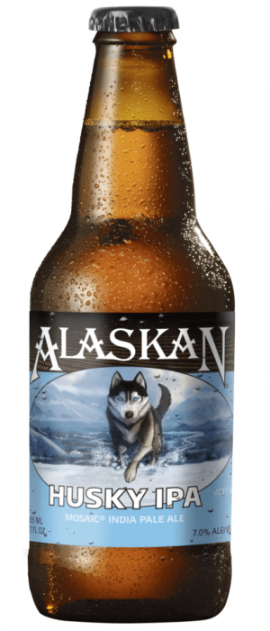 Husky IPA by Alaskan Brewing Company in Alaska, United States