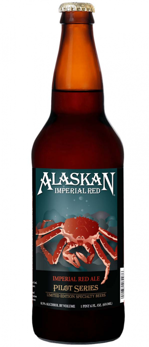 Imperial Red by Alaskan Brewing Company in Alaska, United States