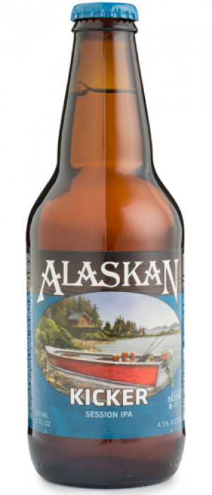 Kicker Session IPA by Alaskan Brewing Company in Alaska, United States